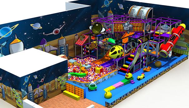 奇奇乐园淘气堡儿童乐园的风格介绍