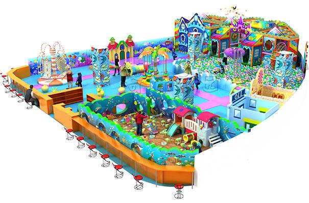 儿童淘气堡六大空间如何设计!