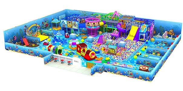 500平米淘气堡儿童乐园