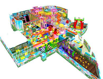 450平米淘气堡儿童乐园