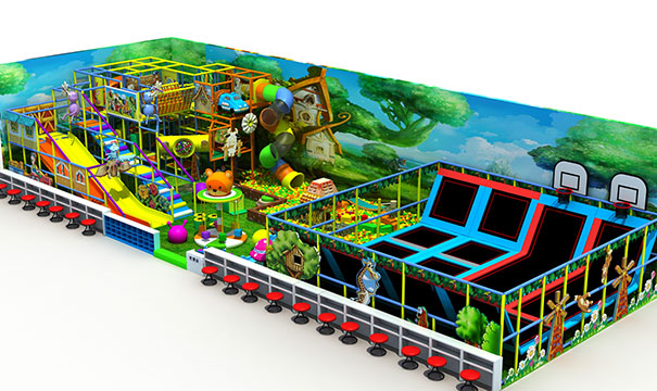 室内儿童乐园淘气堡地址超市怎么样?