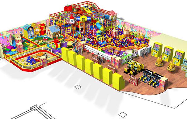 广东投资儿童乐园设备价格是多少一平米