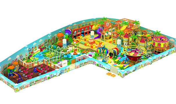 儿童乐园淘气堡位置