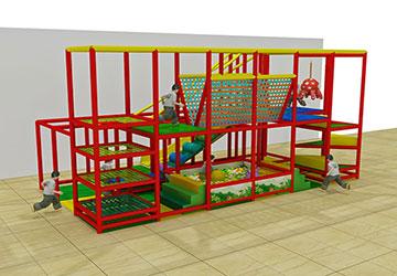 35平米儿童室内小型淘气堡