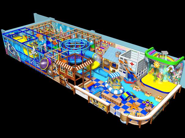 如何正确选择优质室内儿童乐园淘气堡厂家?