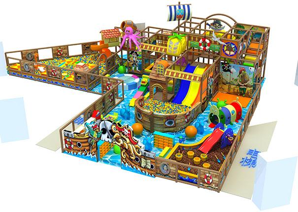 淘气堡室内游乐场中的热门项目有哪些?