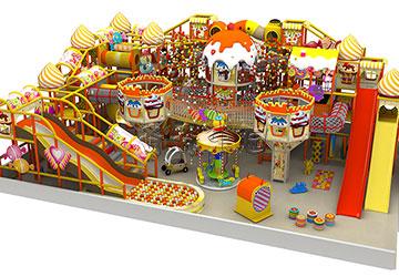 330平米儿童淘气堡乐园