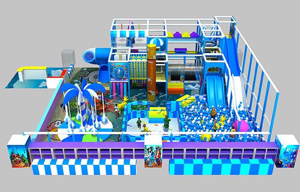 儿童淘气堡游乐场