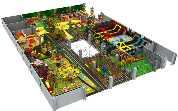 采购儿童游乐设备怎么选可靠的淘气堡厂