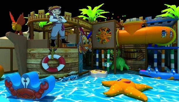 儿童最喜欢去玩的儿童乐园—淘气堡厂家