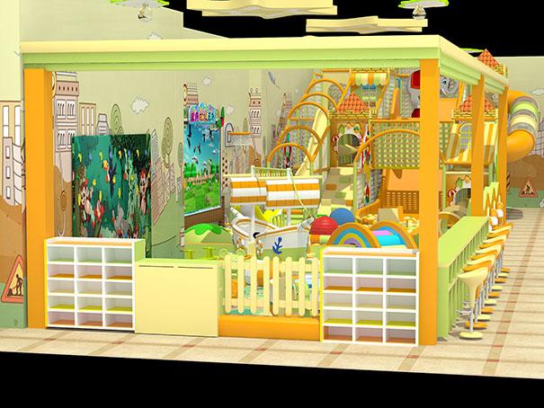 奇奇淘气堡厂家儿童游乐设备设计更有儿童游玩