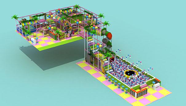 室内儿童淘气堡游乐园设备的维修与保养