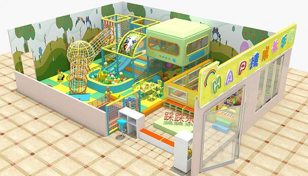 开一家淘气堡室内游乐场多少钱